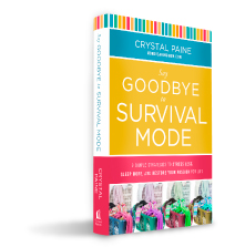 Say Goodbye to Survival Mode by Crystal Paine