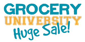 Grocery University Huge Sale!